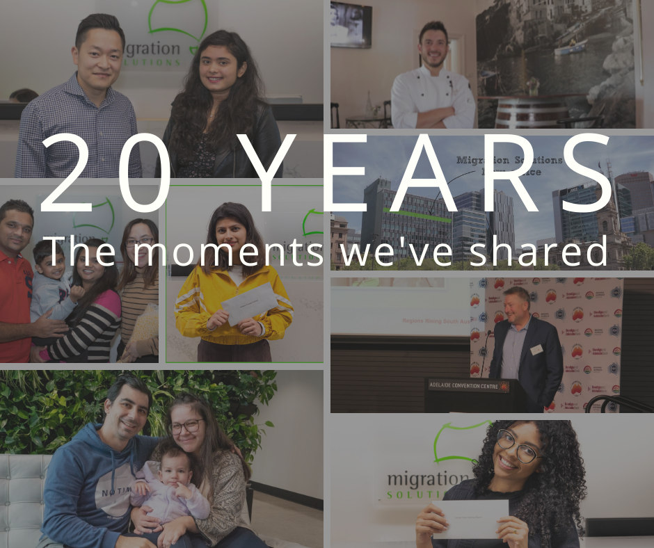 20 years at Migration Solutions